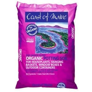Bag of Coast of Maine Bar Harbor blend soil