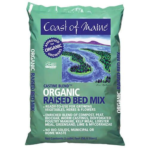 Castine Blend Organic Raised Bed Mix