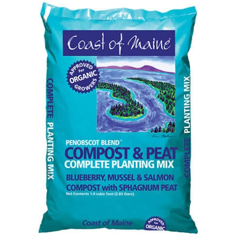 Penobscot Blend Compost & Peat Planting Mix