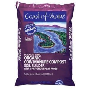 Schoodic Blend Organic Cow Manure Compost