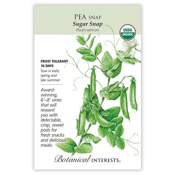 Sugar Snap Peas from Botanical Interests