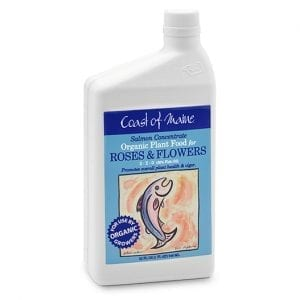 Liquid Salmon Concentrate - Fertilizer for Roses and Flowers from Coast of Maine