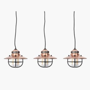 Edison string lights in copper